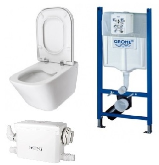 macerator toilet
